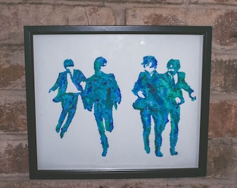 The Beatles Acrylic Painting