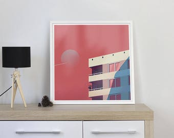 Blok (40cm Fine Art Print)