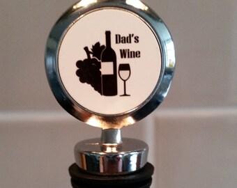 Dad's Wine - Wine Bottle Stopper