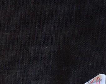 Light cotton canvas, black