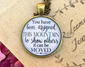 Assigned this Mountain Necklace