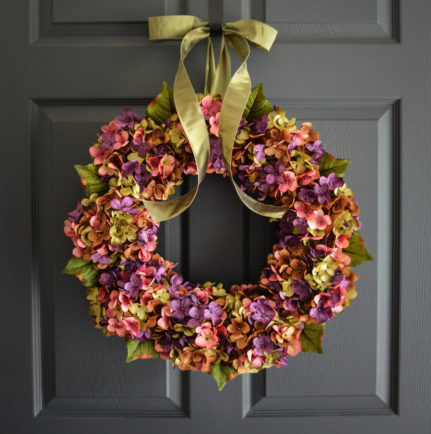 front year day door wreaths customwreathshop spring alert deal mothers hydrangea shop round wreath grapevine everyday etsy farmhouse decor