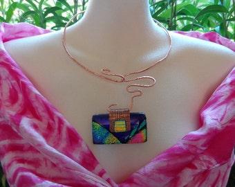 Copper Blues Necklace