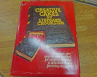 Creative Cakes - Book by Stephanie Crookston
