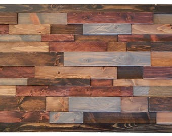 Staggered   Wood Wall Art