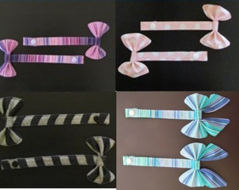 CUSTOM Tula Reach Straps with Bows-- Pick your fabric!