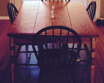 Country Pine Dining Table