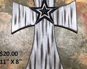 Rustic Cowboys Cross