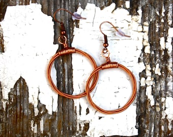 Guitar String Earrings - The MaryJane