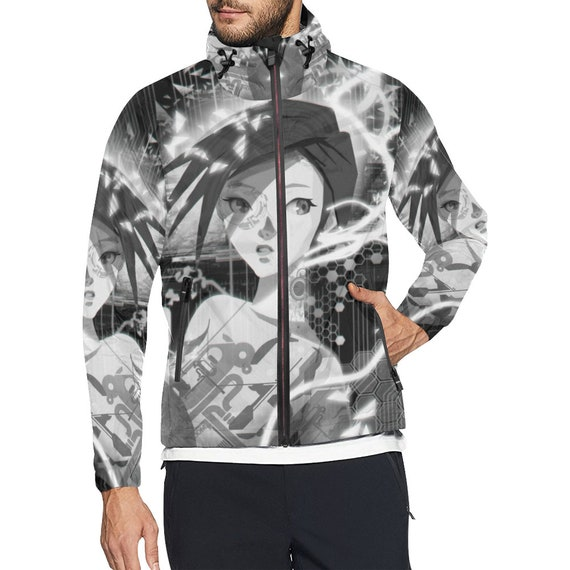 season all designed Jacket weather Sylish men all for Windbreaker Anime Cyberpunk Uw7Sq7aZ