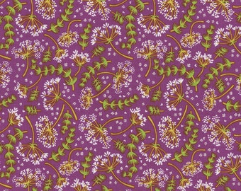 Modern Calico Orchid - 1 Yard Cut - Timeless Treasures - Cotton Fabric - Quilting Fabric