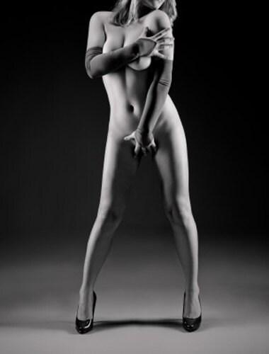 perfect vrouw aan het lapdancen