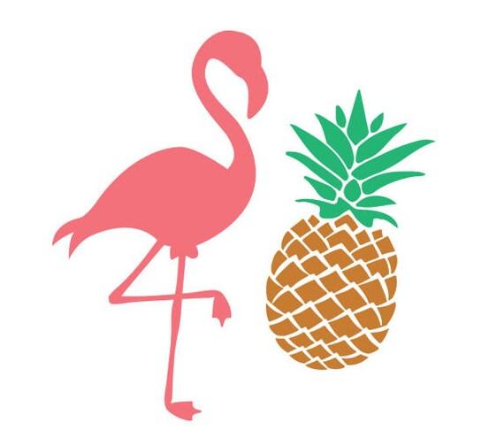 pineapple svg pineapple monogram svg pink flamingo svg pink