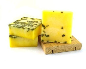 Pineapple Cilantro Soap - Vegan soap- super sudsy lather and bubbles
