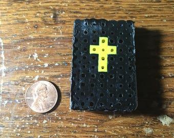 3D Perler Bead Holy Bible