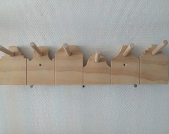 coat rack, dutch houses, made to order