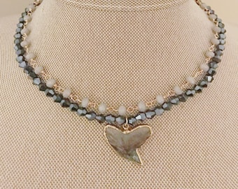 Black Shark Tooth Choker