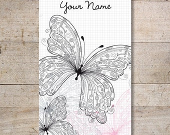 Business Cards - Custom Business Cards - Jewelry Cards - Earring Cards - Display Cards - Butterflies - No. 101