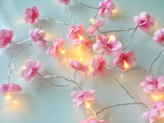 Cherry blossom fairy lights sakura led fairy lights like this item mightylinksfo Choice Image