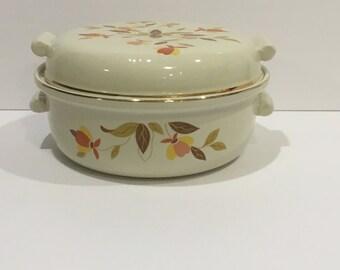 Vintage Hall Autumn Leaf Casserole Dish, Lidded Dish, Hallu0027s, Dish, Autumn  Leaf