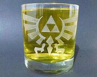 Hyrule Whisky Glass