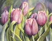 "Notecard ""Tulips"" by Sandi McGuire"