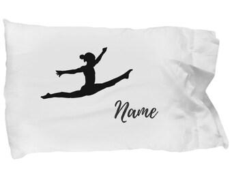 Personalized Gymnastics Pillowcase