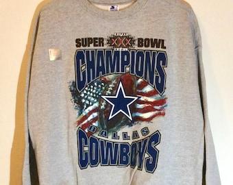 1995 Super Bowl XXX Dallas Cowboys Starter Sweatshirt