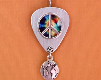 "Guitar Pick Necklace ""One"""