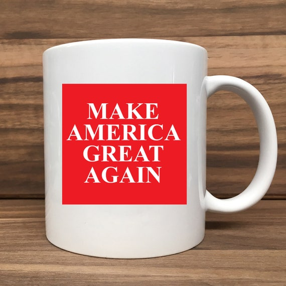 Coffee Mug - Make America Great Again - Double Sided Printing 11 oz Mug