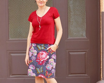 Easy Skirt Pattern for Women / A Line Skirt Pattern / Women's A Line Skirt Pattern PDF