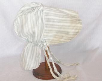 Antique Victorian Edwardian Child's Sunbonnet