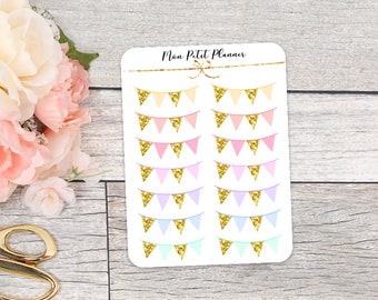Banner Functional Planner Stickers
