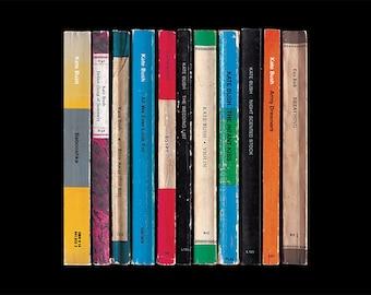 Kate Bush Never For Ever Album As Books Poster Print Penguin Books