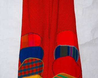 Josefa Ibarra Hand Embroidered Sleeveless Maxi Dress. XS-S. Made In Mexico