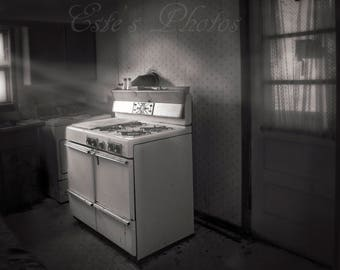 Old Stove in a old home