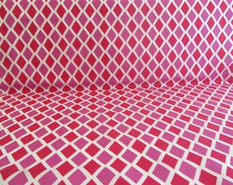 Jennifer Paganelli Cotton Fabric Happy Land Madison JP070 Red OOP