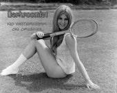 Vintage Tennis Pinup - 8x...