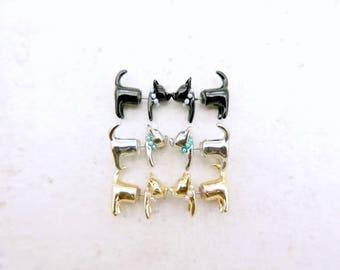 Cat Earrings, Cat Jewelry