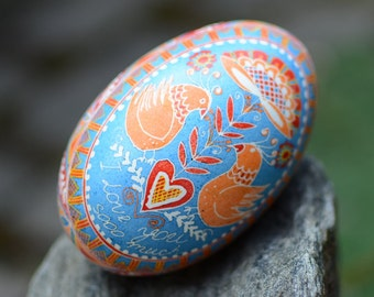pregnancy announcement goose egg pysanka tell your news in unique way tell parents you having baby on the way twins babies shower gift