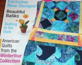The Quilter Magazine September 2010