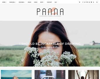 Panna - Blog & Shop Wordpress Theme