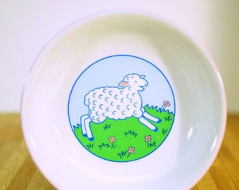Vintage Ikea of Sweden Lamb Cereal Bowl Made in West Germany Design and Quality Rare