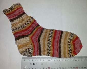 Knitted socks Bitter Chocolate / Носки вязаные