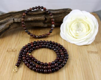 Poppy Jasper Necklace & Bracelet Jewelry Set