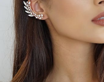 Statement Climber Earring - Gold or Silver
