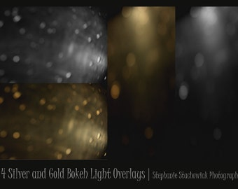 Bokeh Overlay, Light Overlay, Textures, Light Leak