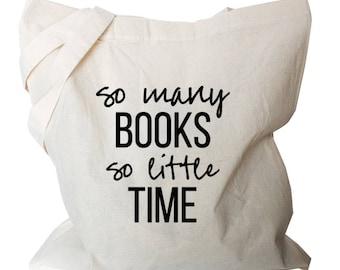 Book Tote Bag - Book Quote Tote Bag - Nerdy Tote Book Bag - Book Quote Tote