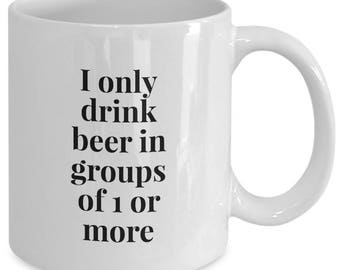 Funny Beer Mugs, Funny Beer Quotes, Beer Mug Funny, Beer Coffee Mug, Coffee Mugs Beer, I Love Beer Mug