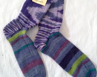 Kids Socks 100% Bamboo Wool Hand Knitted